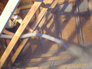 blow in attic insulation